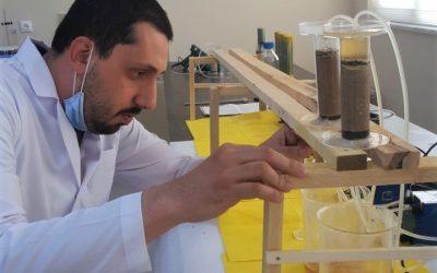 Fakültemiz İnşaat Mühendisliği Bölümü Öğretim Üyesi Akoğuz ve Çalışma Ekibi İnşaat Zeminlerini Biyolojik Yöntemlerle Güçlendirecek